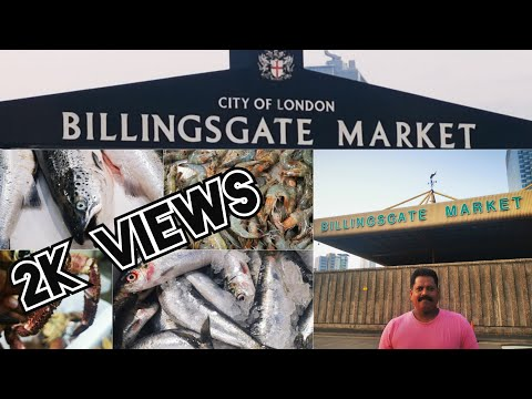 LONDON'S BIGGEST FISH MARKET | Billingsgate Market