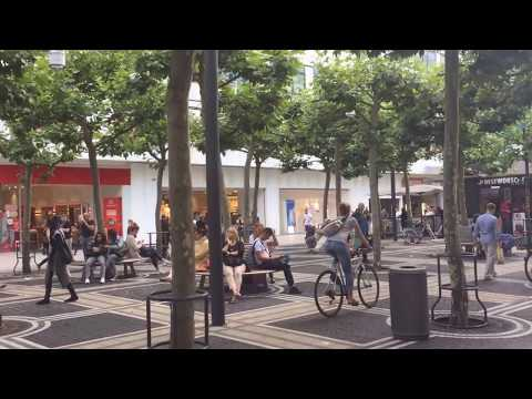 Germany: Frankfurt Zeil June 2017 I MyZeil Shopping Center I Einkaufzentrum HD