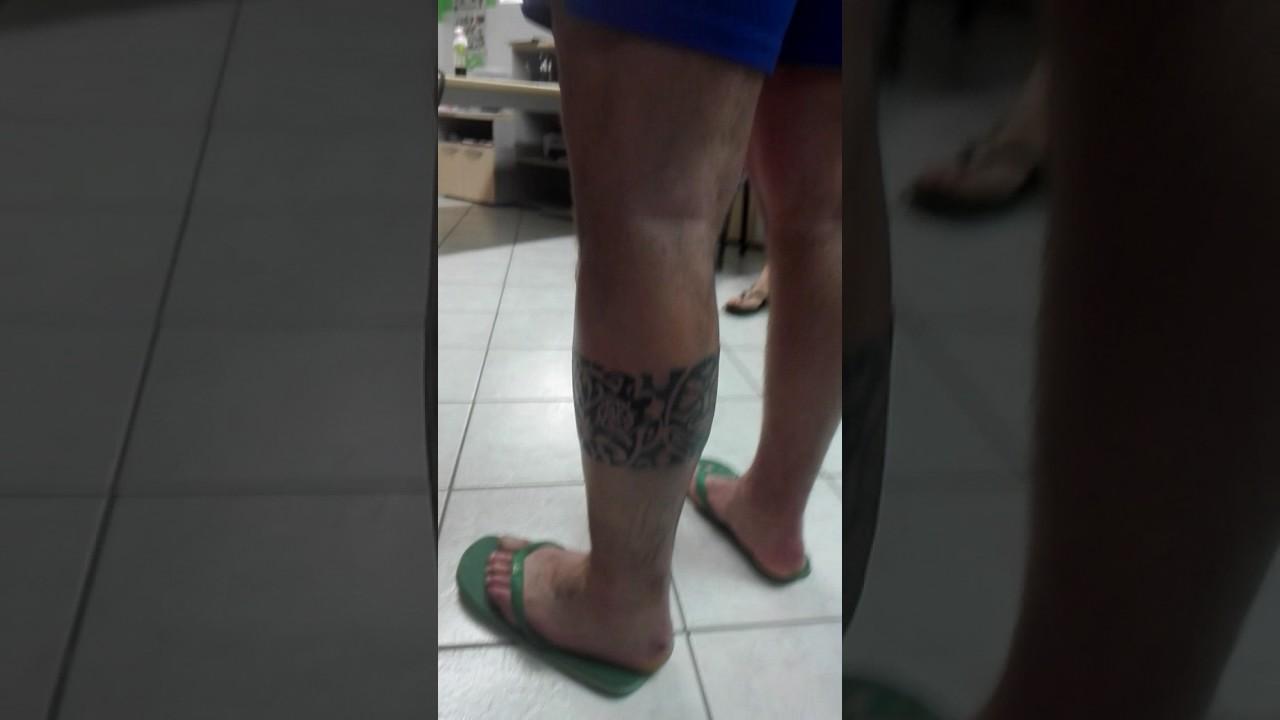 Preferenza Tatuaggio fascia polinesiana - YouTube VU74
