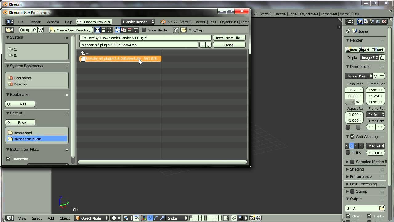 Blenderで入出力 - SkyrimMOD作成wiki - アットウィキ