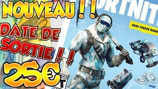 (RELEASE DATE, PRICE...) PACK FROID ETERNEL-FORTNITE