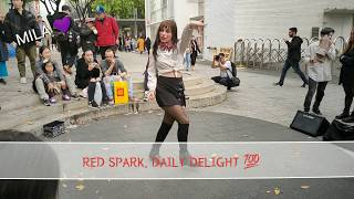 20191031. RED SPARK. HALLOWEEN SHOW. SUNMI 'LALALAY' COVER. FEEL CAPTIVATED TO FASCINATING BUSKING.
