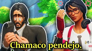 Su mamá me REGAÑÓ en media partida 😥 - Fortnite Battle Royale