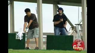 Golf Shooting Range Prank