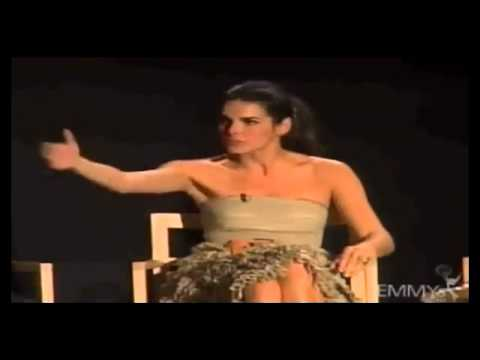 Angie Harmon Driving While Naked Funny Story