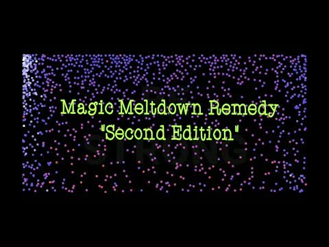 Autism Sensory Soothing Magic Meltdown Remedy Second Edition