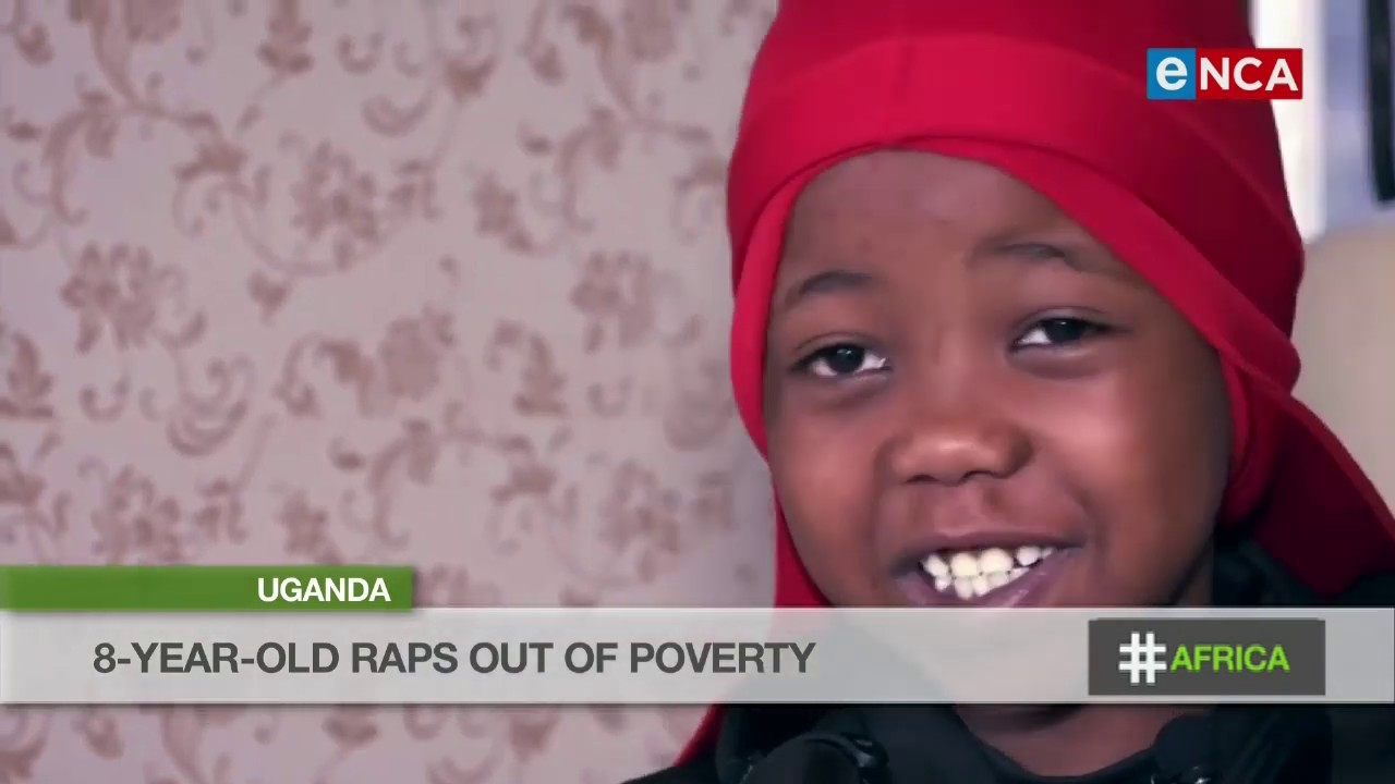 Eight year old Ugandan YouTube sensation who is a rapper.