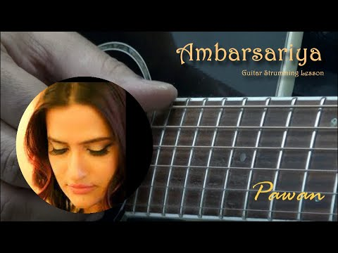 Ambersariya - Fukrey - Guitar Chords Lesson - Open and Barre Chords!