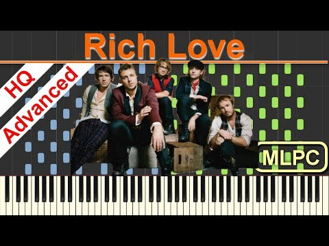 One Republic, Seeb - Rich Love I Piano Tutorial & Sheets by MLPC