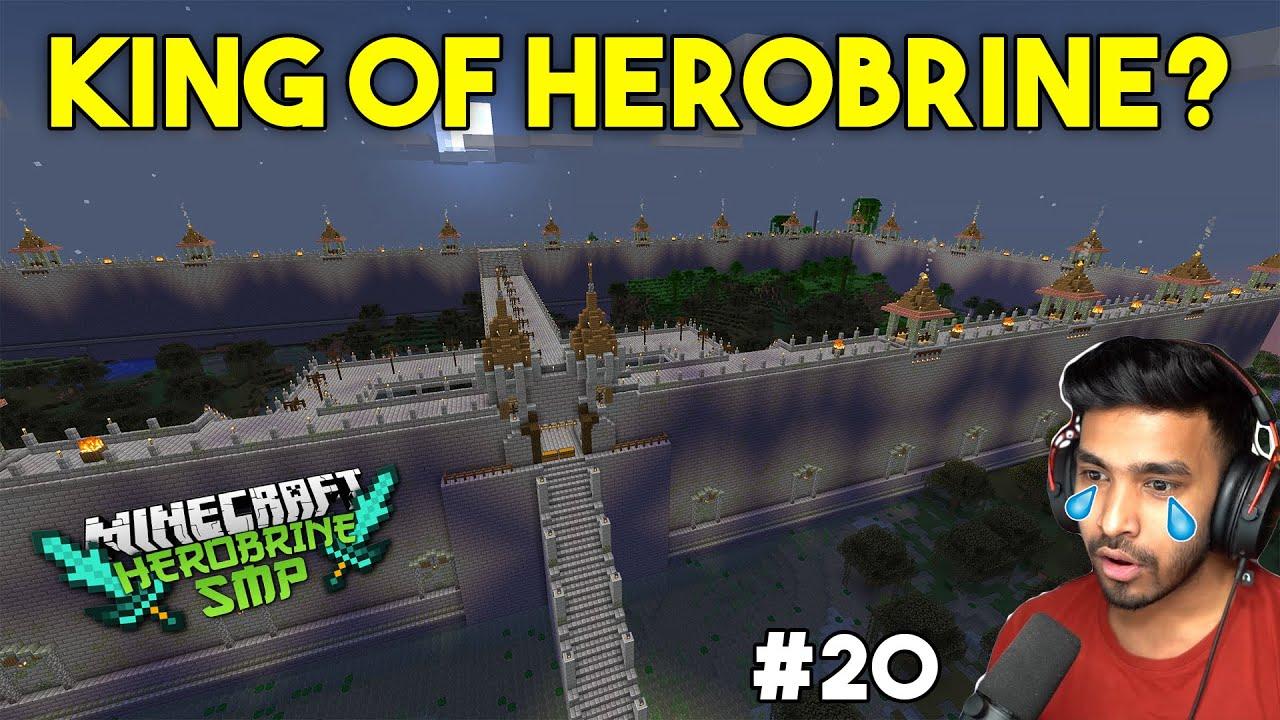 KING OF HEROBRINE - MINECRAFT GAMEPLAY #20