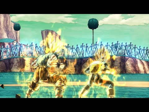 Goku & Vegeta Vs All Metal Coolers In Dragon Ball Xenoverse 2