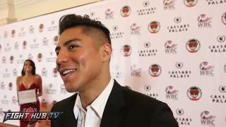 Jessie Vargas on McGregor vs Malignaggi sparring