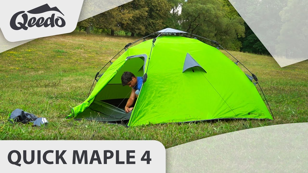 Qeedo Quick Maple 4 Groundsheet Unterlage f/ür Campingzelt