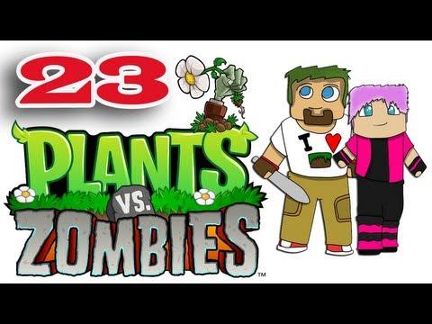 ч.23 Растения против Зомби с кошкой - Пазлы Вазобой