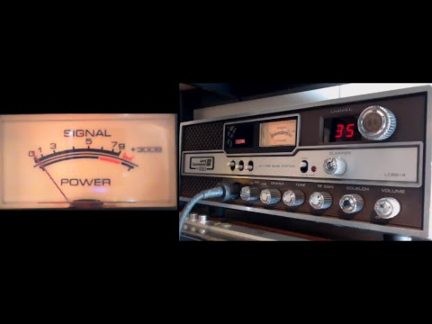 11meterdx Wagga Live Stream 13/2/2018 (27mHz Aussie CB radio) SBE LCBS-4