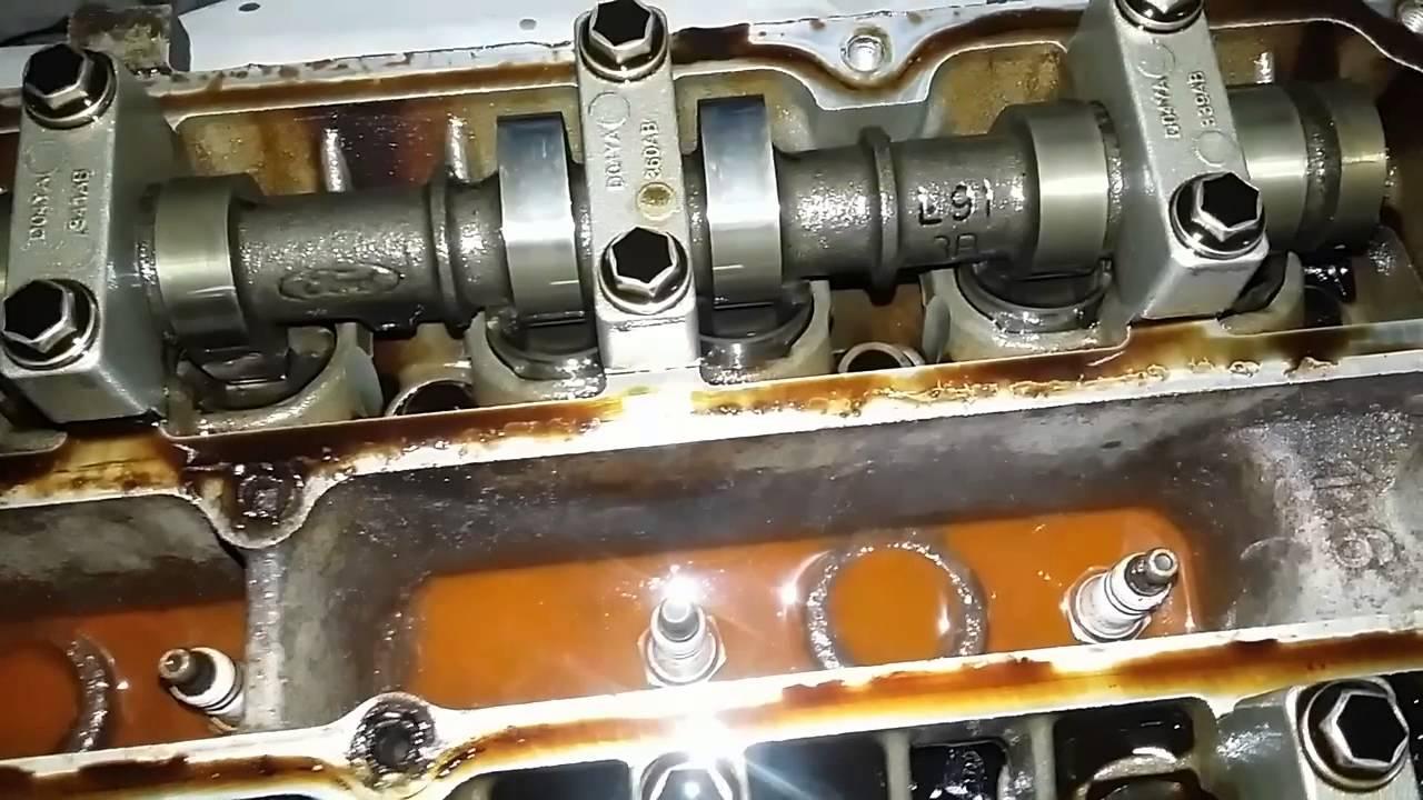 масло в колодцах ford focus 2