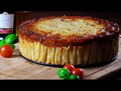 Pasta Kuchen Mit Bolognese: Ein Nudel Rezept Für Ordnungsfanatiker