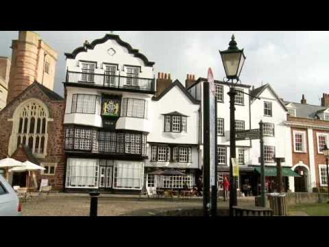 Vobes Explores - Exeter in Devon