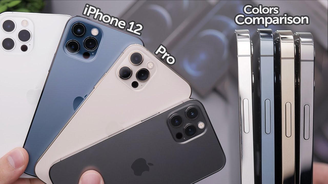 iPhone 12 Pro: All Colors In-Depth Comparison! Which is ...