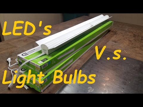 Led workbench light home depot