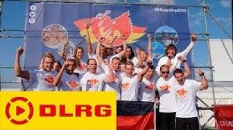 Deutsche Nationalmannschaft bei der Europameisterschaft im Rettungsschwimmen in Wales