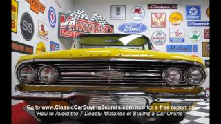 1960 Chevy El Camino Classic Muscle Car for Sale in MI Vanguard Motor Sales