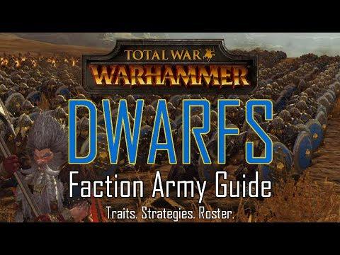 DWARF ARMY GUIDE! - Total War: Warhammer