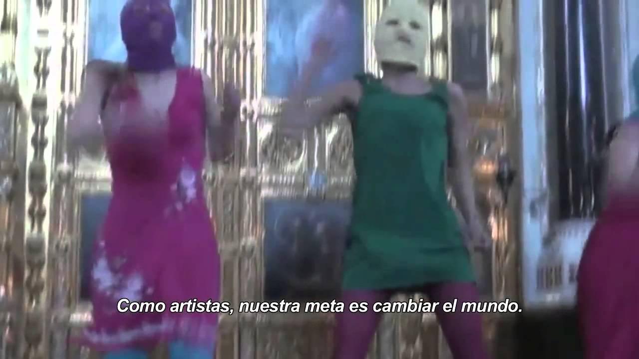 Pussy Riot: Una plegaria punk - Trailer subtitulado en español (HD)