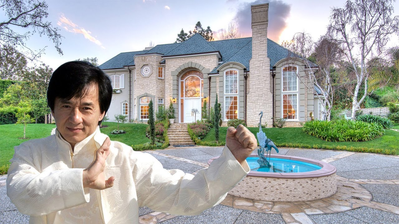 Jackie Chan S House In Beverly Hills 12 2 Million Youtube
