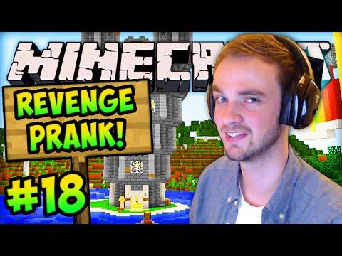 """MINECRAFT (How To Minecraft) - w/ Ali-A #18 - """"REVENGE PRANK"""""""