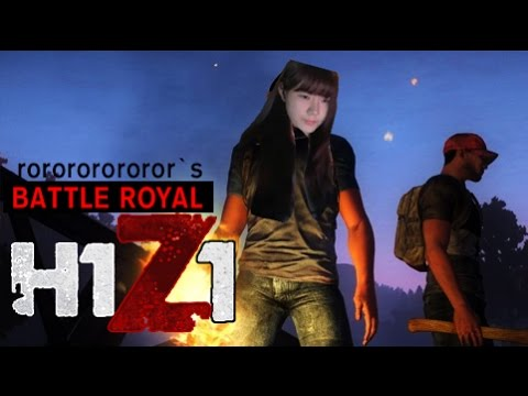 rororo h1z1 woman battle royal 1st youtube. Black Bedroom Furniture Sets. Home Design Ideas