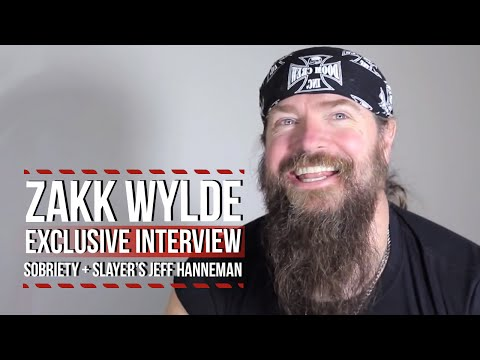 Zakk Wylde Talks Sobriety, Slayer's Jeff Hanneman + More