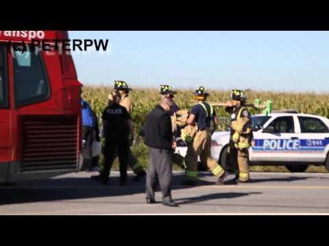 OTTAWA BUS VS TRAIN ACCIDENT HOME VIDEO ✔