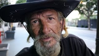 Mark is a disabled veteran living homeless on the streets of Los Angeles.