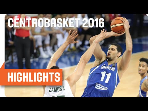 Mexico (MEX) v Dominican Republic (DOM) Highlights - Group B - 2016 FIBA Centrobasket Championship