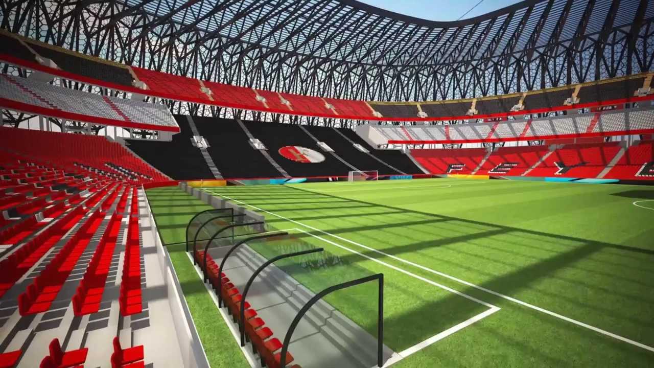 de superkuip nieuw stadion voor feyenoord