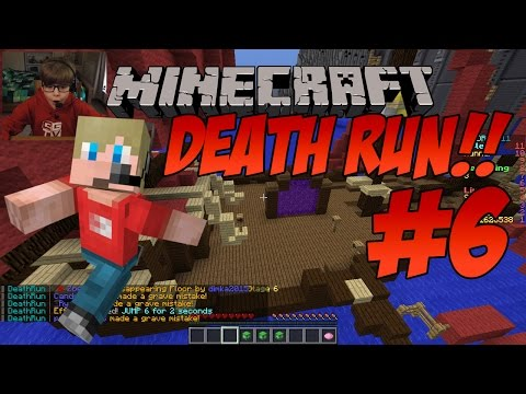 Let's Play Minecraft DEATHRUN!!! (#6) | KID GAMING