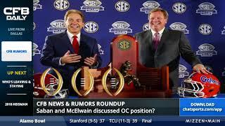 College Football Rumors Roundup - Tennessee QB transfer, Hugh Freeze, and Kahlil Tate tweet