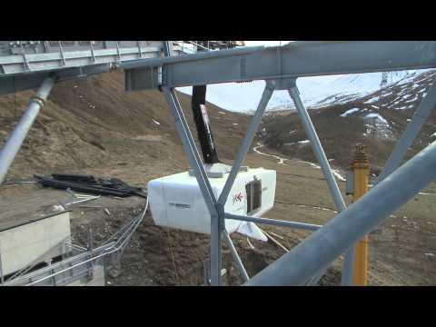 Piz Val Gronda E5, Elektrische Inbetriebnahme