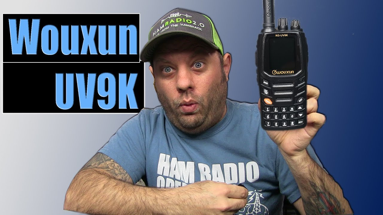Wouxun KG-UV9K Dual Band HT - First Look