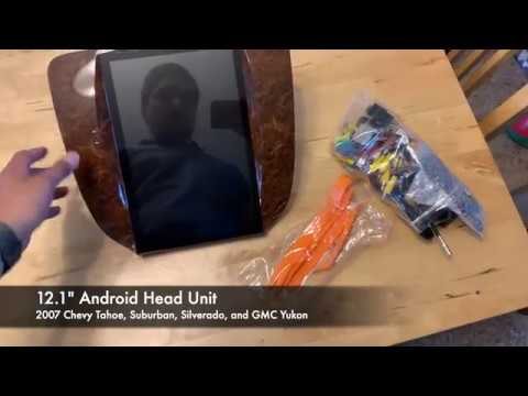 "unboxing--12.1""-android-head-unit--2007-2014-chevy-tahoe,-suburban,-silverado,-and-gmc-yukon"