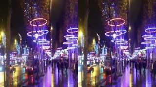 NOEL CHAMPS ELYSEES PARIS 2013 en 3D #01