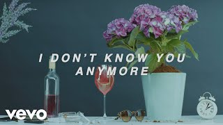 Sody - I Don't Know You Anymore (demo) [Lyric Video]