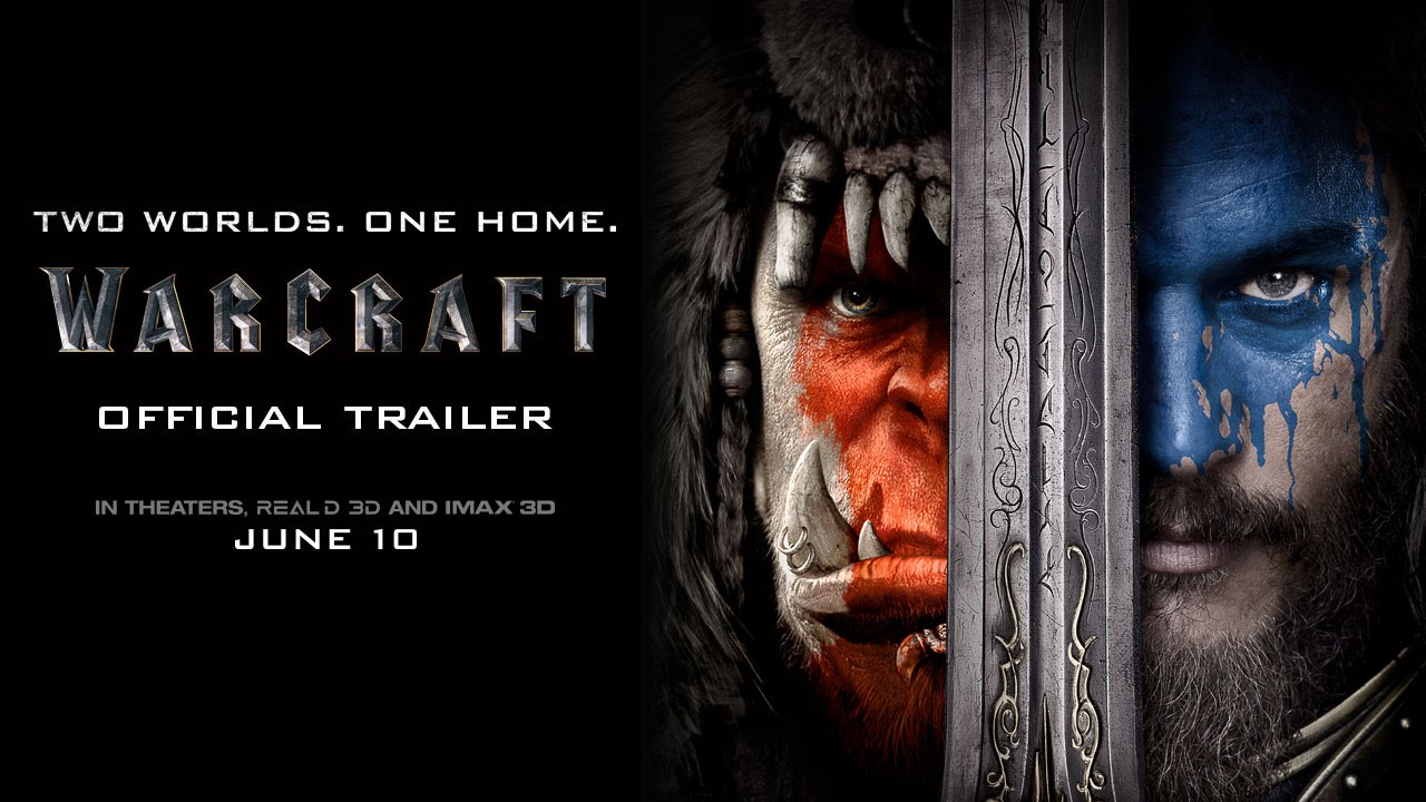 Warcraft Official Trailer Hd Youtube