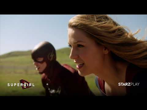 Supergirl | Who's Faster - Supergirl or The Flash | STARZ PLAY