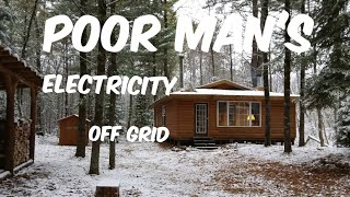 Poor Man's electric off grid