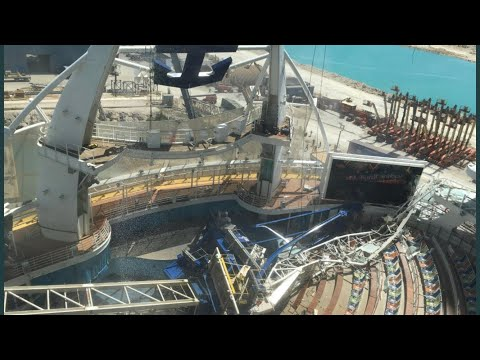 Heath West - A Crane Collapsed On One Of The World's Biggest Cruise Ships