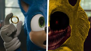 Sonic The Hedgehog Movie Choose Your Favorite Desgin For Both Characters (Super Sonic EXE & Sonic) 2