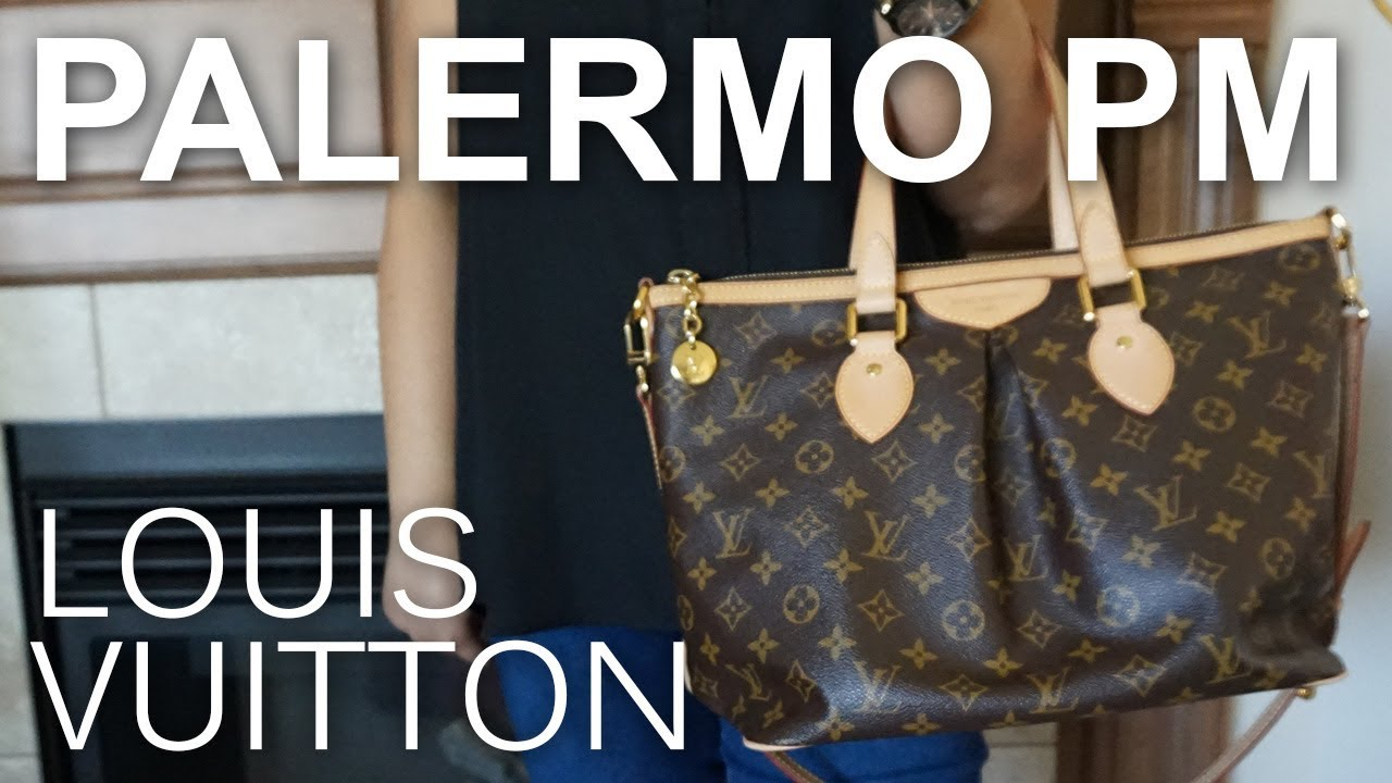 Louis Vuitton Tivoli Vs Palermo Review Louis Vuitton Palermo Pm What Fits Inside Modeling Shots