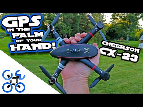 TINY GPS! Cheerson CX23 Review